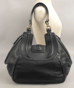 Derek Lam Guinevere Saddle Grande Bag Black