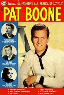 Pat Boone Comic 5 May 1960 Dick Clark Frankie Avalon