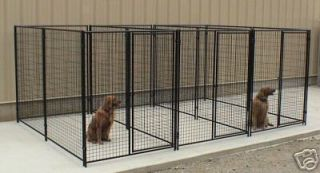 Dog Kennels Pet Cage Fencing Large Outdoor Pens 3 Runs