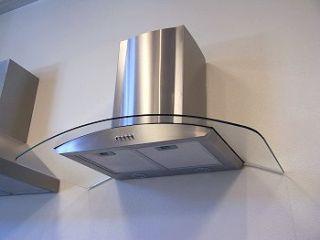 36 Stainless Steel Kitchen Wall Mount Range Hood Vent