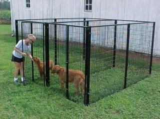 Outdoor Dog Kennels Fencing Cages Heavy Duty 2 Runs