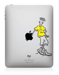 US SHIP 7up Fido Dido Apple Mac iPad 2 1 New iPad Vinyl Skin Decal