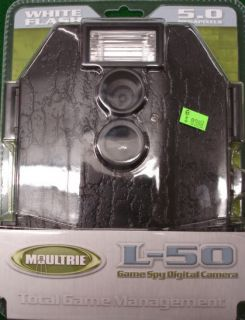 Moultrie L 50 White Flash Game Spy Digital Camera Hunting Deer Archery