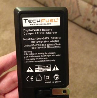 Nikon Coolpix S4100 Digital Camera Travel Battery Charger Techfuel