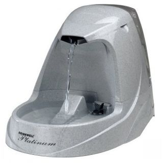 Drinkwell Platinum Pet Fountain Dog Cat Waterer
