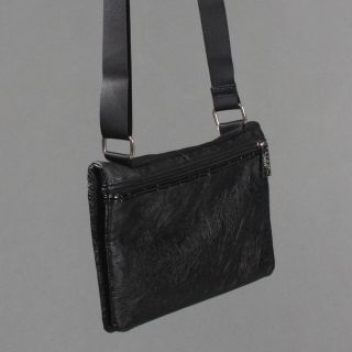 Designer Signature Pocket Medium Crossbody Shoulder Bag