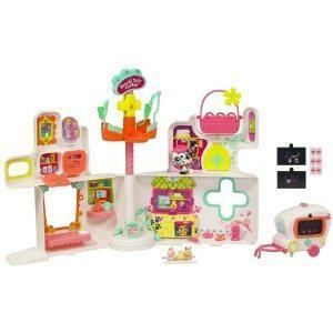 Littlest Pet Shop Rescue Tails Center Playset Lil Petshop Dalmation