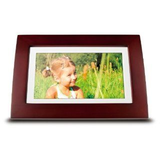 NEW ViewSonic VFA720W 10 7 Inch Digital Picture Frame   Wooden