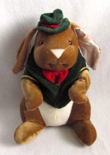 VELVETEEN RABBIT 1985 Toys R US Plush Stuffed Bunny Ears Book Doll