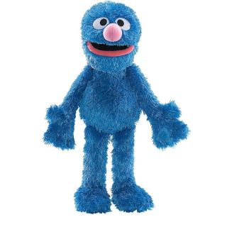 Sesame Street Elmo Friend Grover 15 Gund Plush Doll Cuddle Toy TV New