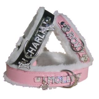 Dog Collars Personalized Rhinestone Letters 5 Free