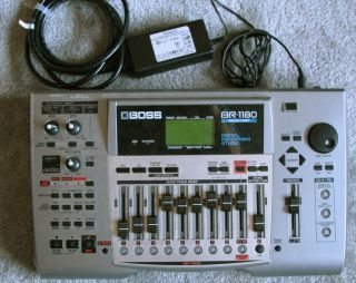 1180 CD digital recording studio 8 track multi track recorder w manual
