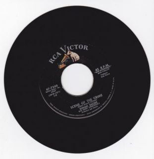 Hear Northern Soul Popcorn 45 Dinah Shore Scene of The Crime RCA
