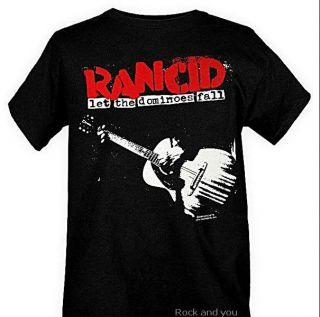 Rancid Dominoes Ska Street Punk Rock T Shirt M L XL