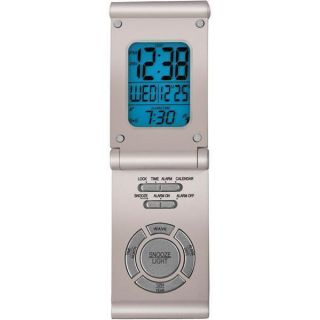 Elgin Atomic Digital Travel Alarm Clock Free SHIP New
