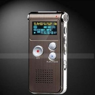 8GB 8g Digital Voice Recorder 650Hr Dictaphone  Player Rechargeable