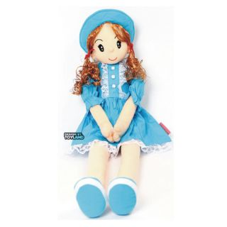 Blue Pretty Girl Long Leg Hug Doll Plush Dolls