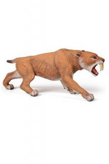 Papo Smilodon Dinosaur Toy Figure Prehistoric 55022 New