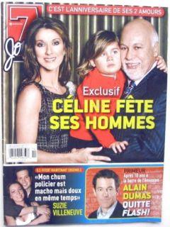 Celine Dion Annie Villeneuve Barbra Streisand Mag