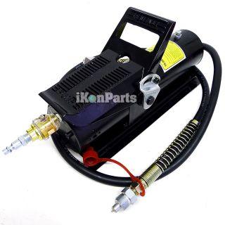 10 Ton Air Hydraulic Foot Pump Body Shop Tools Porta Power Pumps Auto