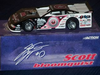 24 Scale Scott Bloomquist Diecast Dirt Late Model