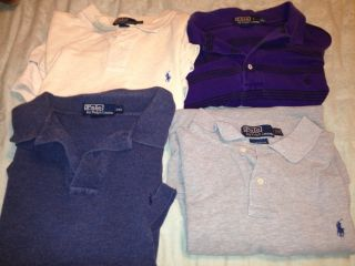 Ralph Lauren Polo Knit Cotton Shirt Lot Mens 2XL XXL Mint