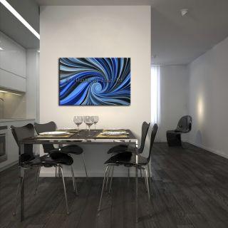 Oil Art, Original Abstract, modern Paintings blue Contemporary wallArt