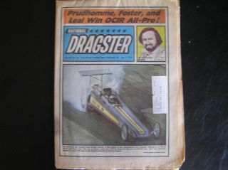 73 NATIONAL DRAGSTER Don Prudhomme John Wiebe Pat Foster Tom