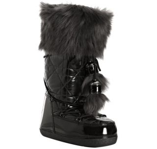 Christian Dior Cannage Iconic Quilted Snow Logo Fur Ski Moon Boots 41