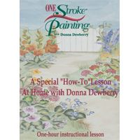 Donna Dewberry One Stroke Painting at Home How to DVD