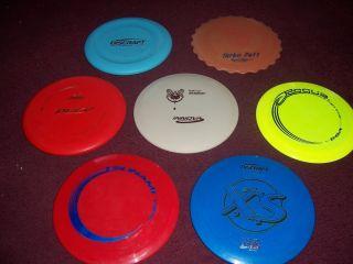 Disc Golf Discs Lot NEW Banger Turbo Putt Pure XS Tsunami Rogue 1st