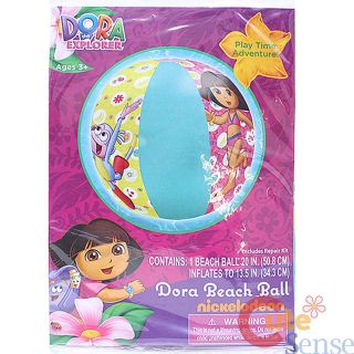 Dora The Explorer Dora and Boots Inflatable Beach Ball 20 Water Play