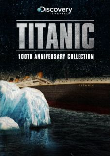 TITANIC 100TH ANNIVERSARY COLLECTION New Sealed DVD Discovery Channel