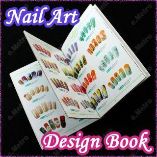 Libro Manicura Diseño Para UÑA Arte Con 1000 Colección