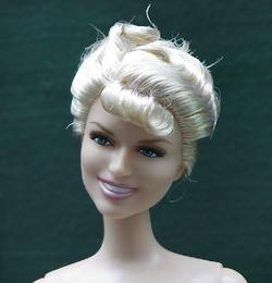 Glamorous Life Like Celebrity 1950s Doris Day Doll Nude