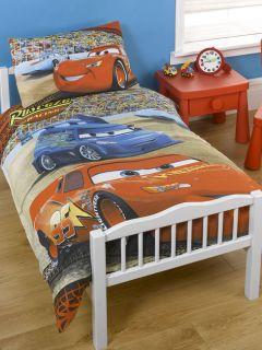 Disney Cars McQueen Junior Cot Bedding Duvet Cover Set