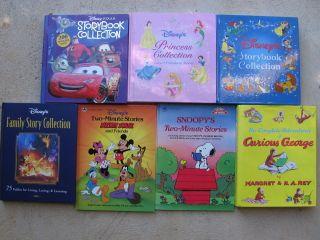 Lot of 7 Disney Press PIXAR Princess Family Story Storybook