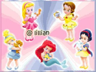 New Disney Baby Princesses Cross Stitch Pattern