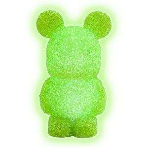 disney vinylmation light up green 7 mickey mouse figure figurine brand