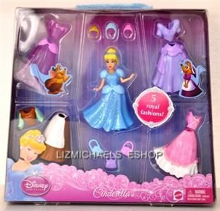 WOW Disney Princess Dress Up Cinderella Snap on Pretend