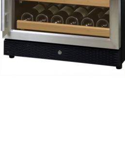 541 SSR 51 Bottle Stainless Steel Door Wine Cellar Refrigerator
