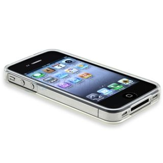 Soft Diamond Rubber Gel Case Cover for iPhone 4 4S G iOS4