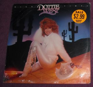 you sealed 1981 dottie west high times lp country vocal
