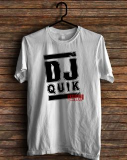 New DJ Quik Rap Hip Hop Collab Classic Tee T Shirt