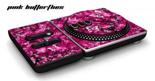 New DJ Hero Skin Fits Xbox 360 PS3 PS2 Wii Skinz Pink B