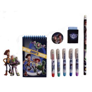 13pc Toy Story 3 Loaded Christmas Stocking Stuffer w Toys Art Supplies