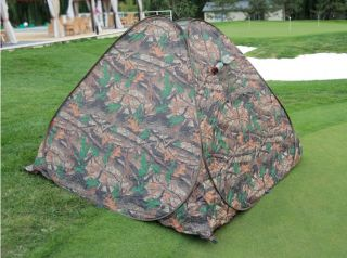 New Portable Camouflage Easy Setup Pop Up Camo Camping Hiking Tent