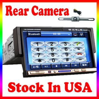 SD USB iPod Radio BT A2DP 7 Touch Screen Car Stereo DVD Player