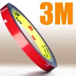3M Auto Acrylic Foam Double Sided Attachment Tape