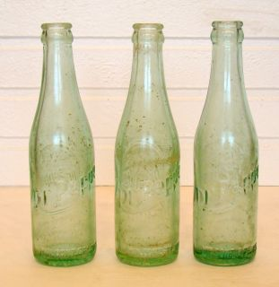 TENNESSEE Vintage DR PEPPER Embossed Glass 1954 SODA POP Bottle / LGW
